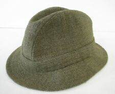 VTG LL BEAN Keepers WOOL TWEED TRILBY HAT CAP Fedora MADE ENGLAND Gangster L 09ecf2c0a0b3