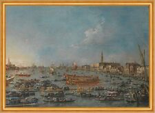 The Bucintoro Festival of Venice Francesco Guardi Venedig Italien B A1 01798