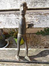 Ancienne statuette personnage ethnique homme à identifier