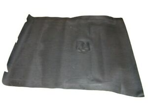 Black Trunk Mat 1939 1940 Ford Coupe or Convertible