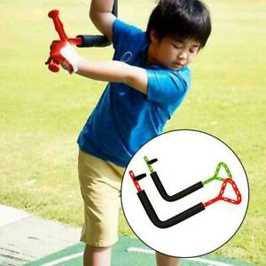 Golf spinner swing trainer indoor swing plane motion corrector O4N8
