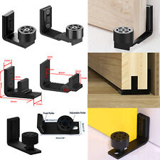 Ajustable Floor Guide Roller Wall Mount Bottom For Sliding Barn Door Hardware