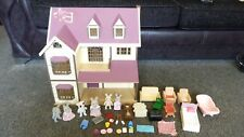 Sylvanian Families Oakwood Manor House + Figures + Furniture