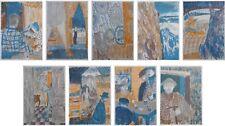 BARDONE Guy : Alpinisme et Montagnards - 9 LITHOGRAPHIES originales #1967
