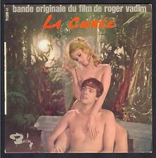 LA CUREE BO FILM ORIGINAL SOUNDTRACK Rare 45T EP BOURTEYRE / BOUCHETY / VADIM