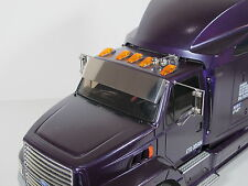 Tamiya RC 1/14 Ford Aeromax Semi Truck front windshield Sun Wind Visor deflector