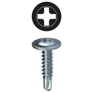 Wafer Head Self Drilling Light-Weight Design Steel Drywall Screws 4.2 X 13 mm