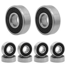 Hostk Qpower 100 Pcs Skateboard Bearing, 608 Abec-9 High Speed Wearproof Skat.