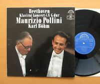 Beethoven Piano Concerto no. 4 Pollini Bohm 1981 NM/EX Supraphon 1110 2834