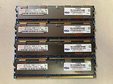 Hynix 16GB (4x4GB) DIMM 1333 MHz PC3 DDR3 ECC SD RAM Memory - HMT151R7BFR4C-H9