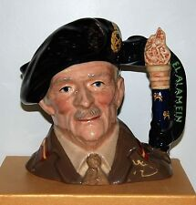 LARGE ROYAL DOULTON FIELD MARSHAL MONTGOMERY D6908 *LIMITED EDITION & SIGNED*