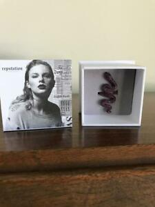 NEW! Taylor Swift PURPLE Snake Ring 2017 Reputation Tour IN BOX SOLD OUT!