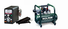 GRS® Tools 004-995 GraverMax G8 with Rolair Compressor