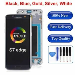 LCD Touch Screen Digitizer Display for Samsung Galaxy S7 Edge G935W8 G935A G935F