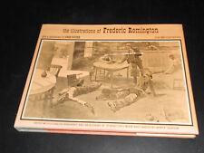 COPYRIGHT MCMLXX HARDBACK BOOK ILLUSTRATIONS OF FREDERICK REMINGTON