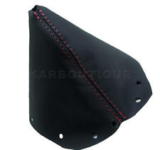 Shift Boot Real Leather for Nissan 300ZX (Z32) 90-96 Red Stitch Manual