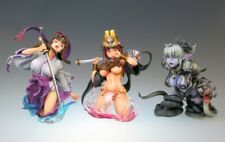 Medicos Hobby Japan Queen's Blade Bust Collection Figure Vol 2 2P Set of 3 New