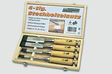 Stechbeitel Stemmeisen Satz 4-tlg. Profiausführung Mannesmann Green Line 66104