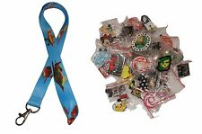 Disney World Pin Trading Lot Lanyard Starter Set Planes Fire Rescue w/ 10 Pins