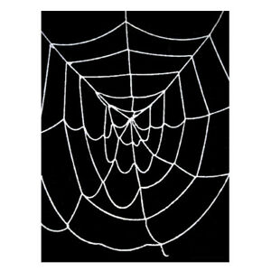 9.5' ft Deluxe Giant White Spider Web ~ INDOOR OUTDOOR HALLOWEEN DECORATION PROP