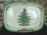 Spode Christmas Tree Imperial Cookware Oven to Table Baking Dish Roaster