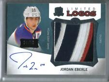 Jordan Eberle 12/13 The Cup Autograph Game Used Jersey Patch #26/50