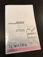 ReVive Fermitif Neck Renewal Cream Broad Spectrum Spf 15 Sunscreen 2g 0.06oz