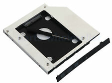 2nd 2.5 Hard disk SATA HDD SSD Caddy Adattatore per HP ProBook 445 450 470 G1 G2