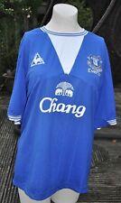 Everton Home Football Shirt 2009-10 Size 46ins Premier League Chang Le Coq Sport