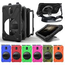 Para Samsung Galaxy Tab Active 2 SM-T390 SM-T395 Tough Case Cover Soporte Sostenedor de la pluma