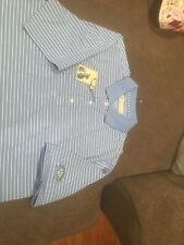 Donald Ross Golf Polo Mens L Light Blue New With Tags