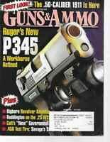 Guns & Ammo Handguns Magazine October 2004 Ruger P345, Bigbore Revolver Roundup