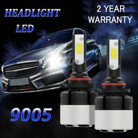 2x 9005 HB3 72W 9000LM Ampoule LED Phare Feux Avant Lampe Conversion Kit Blanc