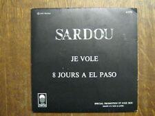 MICHEL SARDOU 45 TOURS FRANCE PROMO JE VOLE (2)