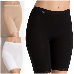 Sloggi Basic Long Briefs White Nude or Black Size 12 - 26 Sloggi Underwear
