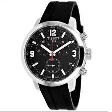 Tissot PRC 200 Chronograph Black Dial Mens Watch T0554171705700