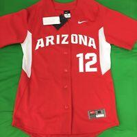 Authentic Nike Arizona Wildcats NCAA Baseball Jersey SZ M Pro Cut On Field NWT'S
