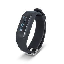 Fitness Bluetooth Armbanduhr Tracker Schrittzähler Pulsmesser für Android iOS