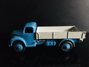 Vintage Dinky Toys Dodge # 414 Tipping Truck Blue & Grey 1/43 Scale Meccano
