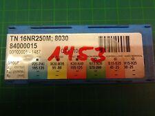 4 x Pramet Wendeschneidplatte TN 16NR250M; 8030