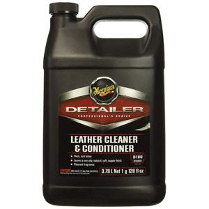 Meguiar's® D180 Detailer Leather Cleaner & Conditioner, 1 Gallon