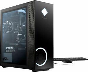 HP OMEN - Gaming Desktop - AMD Ryzen 7 5800X - 16GB Memory - NVIDIA GeForce R...