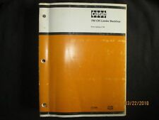 Case 780 CK Loader Backhoe Parts Catalog Book Manual Factory Original OEM 1984