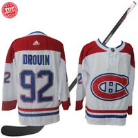 92 DROUIN Montreal Canadiens White Mens Hockey Jersey M-3XL
