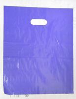 "200 12"" x 15"" Purple GLOSSY Low-Density Plastic Merchandise Bags"