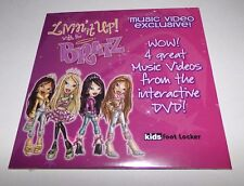 Livin It Up With The Bratz DVD Rare Not For Sale Promo Copy - NEW Sealed RARE