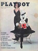 PLAYBOY SEPTEMBER 1961 Christa Speck Miami Playboy Club Nude View of TV (1)