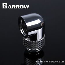 "Barrow G1/4"" Silver 90 Degree Rotary Adapter - 012"