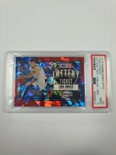 2018 CONTENDERS OPTIC LUKA DONCIC LOTTERY TICKET RED CRACKED ICE RC PSA 9 SJ