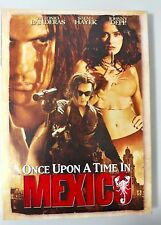 Video DVD - Once Upon a Time in Mexico - Depp Banderas Hayek NEW Open WORLDWIDE